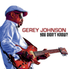 Gerey Johnson - You Didn't Know?  artwork