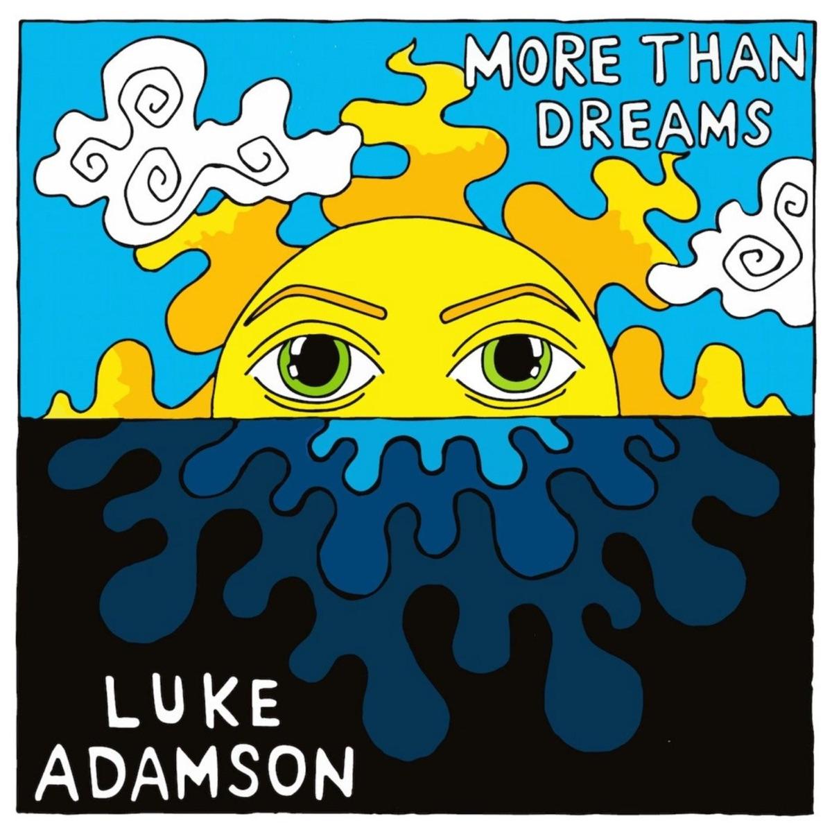 More Than Dreams - Single Luke Adamson CD cover