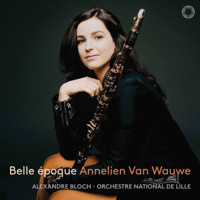 Annelien van Wauwe, Orchestre National de Lille & Alexandre Bloch - Canzonetta in E-Flat Major, Op. 19 (Arr. J. Tassyns for Clarinet & Orchestra) artwork