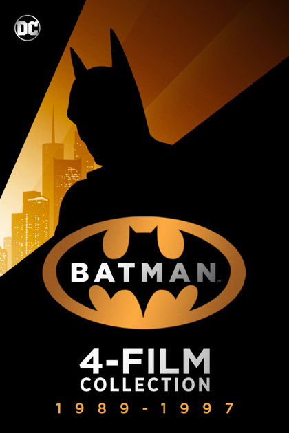 Batman 4 Film Collection (Digital 4K UHD)