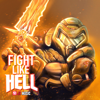 JT Music - Fight Like Hell (Remastered) grafismos