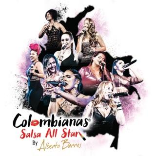 Resultado de imagen para ALBERTO BARRIOS COLOMBIANAS SALSA ALL STARS