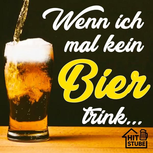 Glitzer Gischi mit Wenn ich mal kein Bier trink