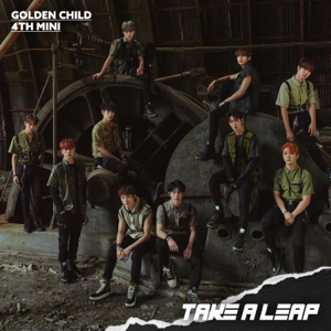 Golden Child - Golden Child 4th Mini Album: Take a Leap