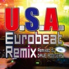 U.S.A. Eurobeat Remix (Remixed by DAVE RODGERS) - Single ジャケット写真