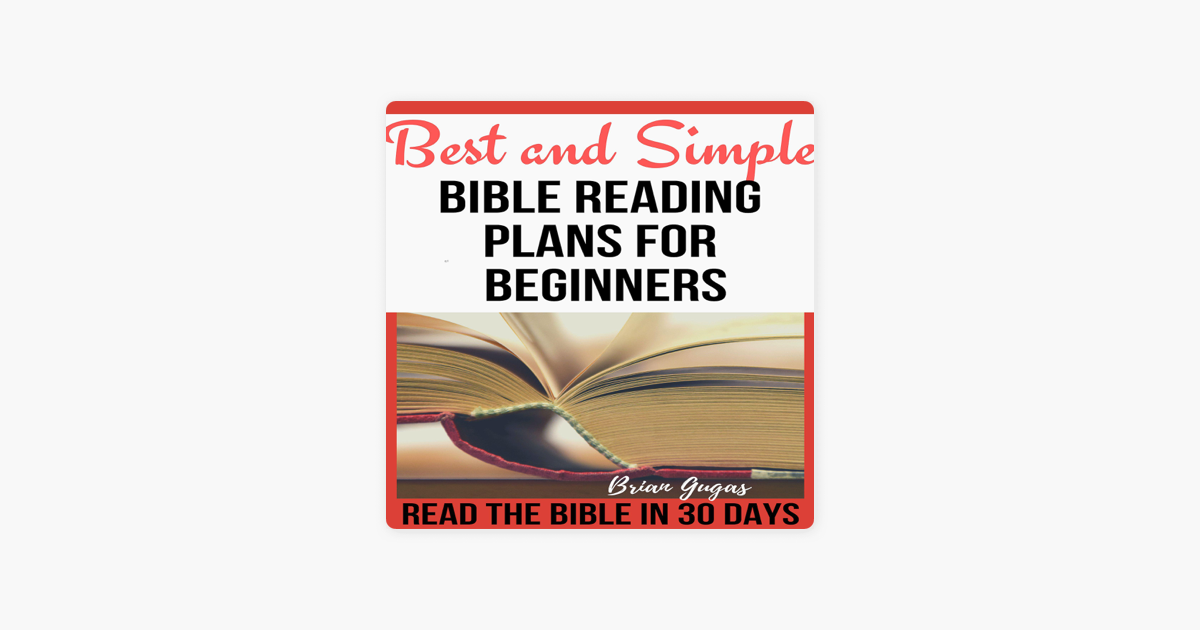 Best and Simple Bible Reading Plans for Beginners: Read the Bible in 30  Days (Unabridged)