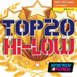 Various Artists - Top 20 Hi-low (Mixed Compilation For Fitness & Workout - 140/160 Bpm - 32 Count - Ideal For Hi-Low Impact)