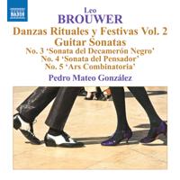 Pedro Mateo González - Brouwer: Guitar Music, Vol. 5 artwork