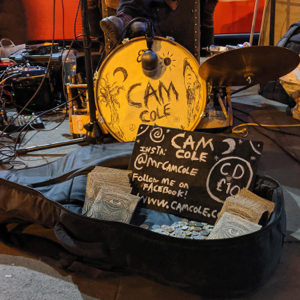 Cam Cole - Live Busking at Camden Town Station