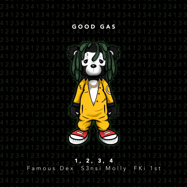 1, 2, 3, 4 (feat. Famous Dex & S3nsi Molly) - Single