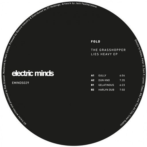 The Grasshopper Lies Heavy - EP by Fold