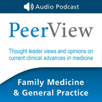 Podcast cover art for PeerView Family Medicine & General Practice CME/CNE/CPE Audio Podcast