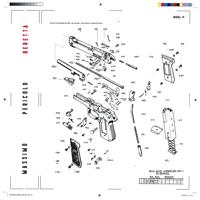 Massimo Pericolo & Crookers - Beretta artwork