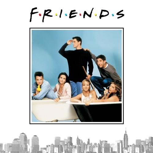 Friends, Season 3 poster