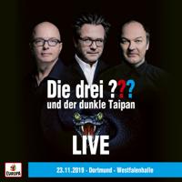 Die drei ??? - und der dunkle Taipan (LIVE - 23.11.19 Dortmund, Westfalenhalle) artwork
