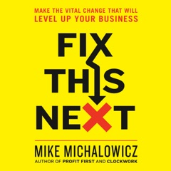Fix This Next: Make the Vital Change That Will Level Up Your Business (Unabridged)