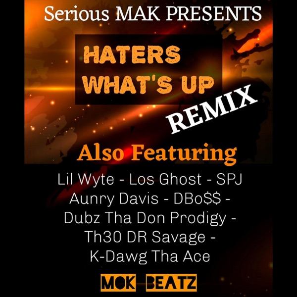 Haters What's Up (Remix) [feat. Lil Wyte, DBo$$, SPJ, Los Ghost, Aunry Davis, K - Dawg Tha Ace, Dubz Tha Don Prodigy & Th3o Dr Savage] - Single