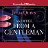 Julia Quinn - An Offer from a Gentleman  artwork