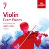 Violin Exam Pieces 2020-2023, ABRSM Grade 7 - Various Artists