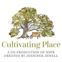 Podcast cover art for Cultivating Place