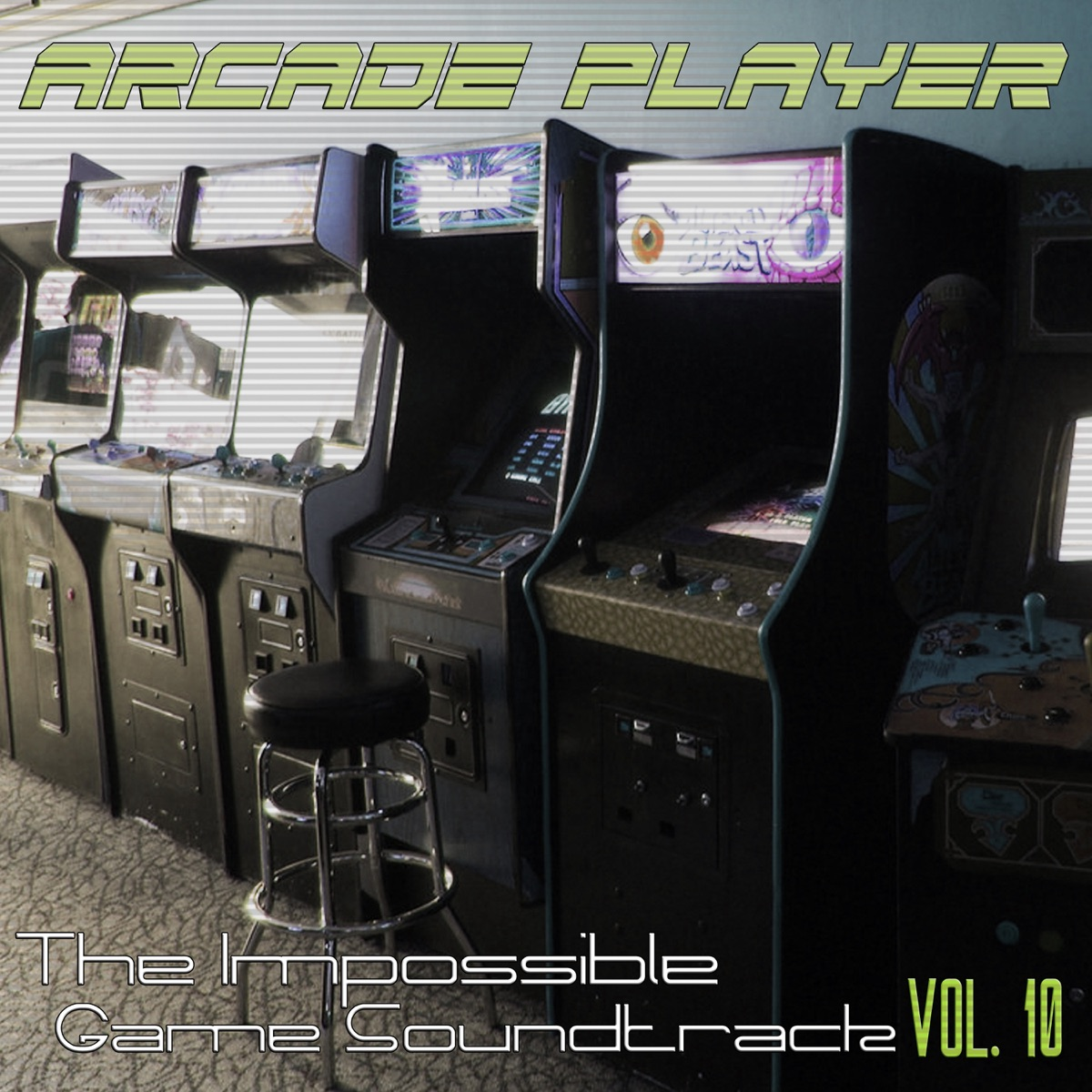 The Impossible Game Soundtrack Vol 10 Arcade Player CD cover