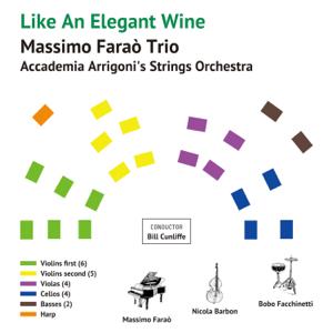 Massimo Farao' Trio with Accademia Arrigoni's Strings Orchestra & マッシモ・ファラオ・トリオ - Like An Elegant Wine
