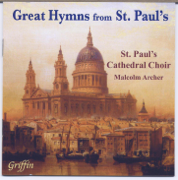 22 Great Hymns from St. Paul's - St. Paul's Cathedral Choir & Malcolm Archer