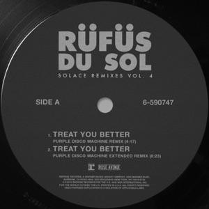 RÜFÜS DU SOL - Treat You Better (Purple Disco Machine Remix)
