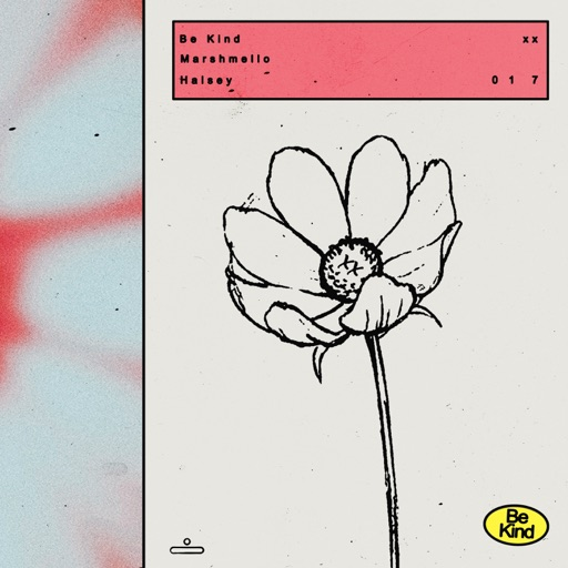 Art for Be Kind by Marshmello & Halsey