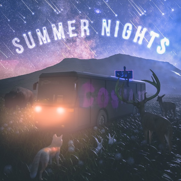 iTunes Artwork for 'Summer Nights - EP (by Cosha TG)'