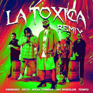 Farruko, Sech & Myke Towers - La Tóxica feat. Jay Wheeler & Tempo [Remix]
