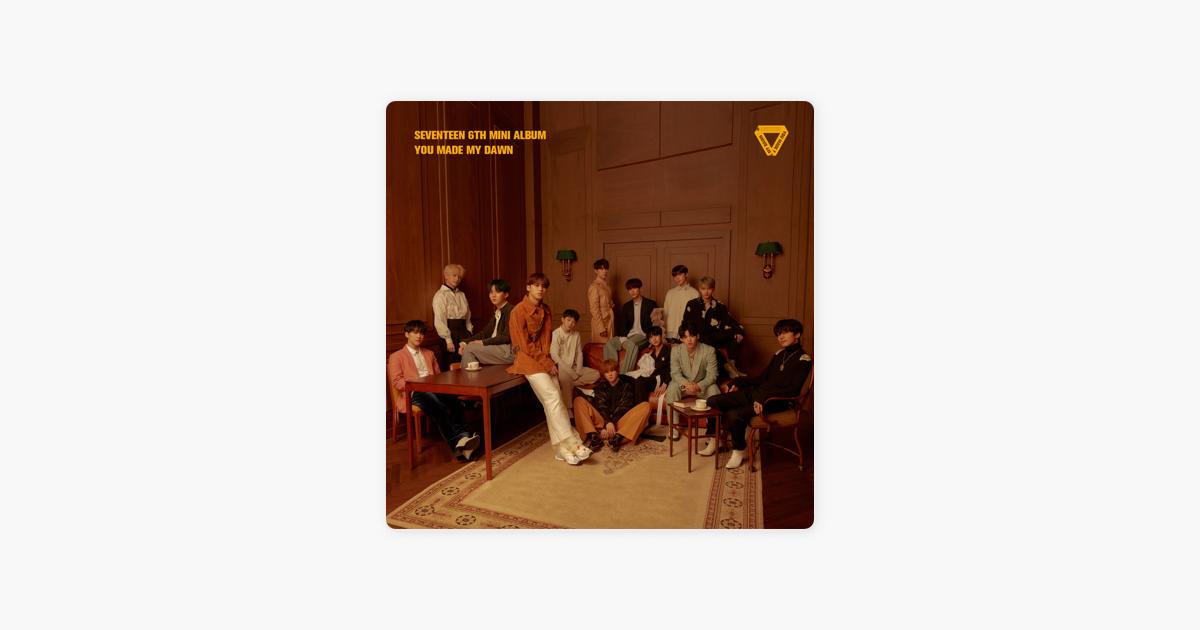 SEVENTEEN 6TH MINI ALBUM 'YOU MADE MY DAWN' - EP by SEVENTEEN