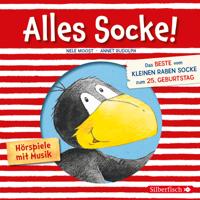 Nele Moost & Annet Rudolph - Alles Socke! (Alles erlaubt?, Alles Eis!, Alles gefunden!, Alles zu spät!, Alles echt wahr!, Alles nass!, Alles Bitte-danke!, Alles verlaufen! (Kleiner Rabe Socke) artwork