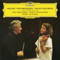 Anne-Sophie Mutter, Berlin Philharmonic & Herbert von Karajan - Mozart: Violin Concertos Nos. 3 & 5 artwork