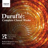 """Messe """"Cum Jubilo"""" pour choeur de barytons et orgue, Op. 11: IV. Benedictus"""