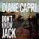 Diane Capri - Don't Know Jack: Hunting Lee Child's Jack Reacher: The Hunt for Jack Reacher Series, Book 1 (Unabridged)