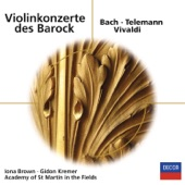 Gidon Kremer - J.S. Bach: Concerto For 2 Violins, Strings, And Continuo In D Minor, BWV 1043 - 3. Allegro