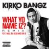 What Yo Name Iz? (Remix) [feat. Wale, Big Sean and Bun B]- Single