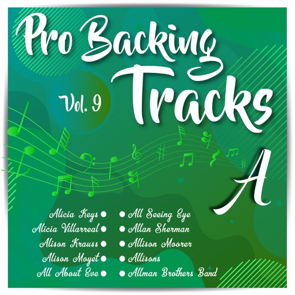 Pro Backing Tracks a, Vol. 9