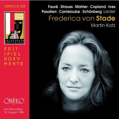 Lieder (Live) - Frederica Von Stade