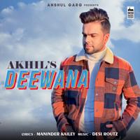 Akhil - Deewana - Single artwork
