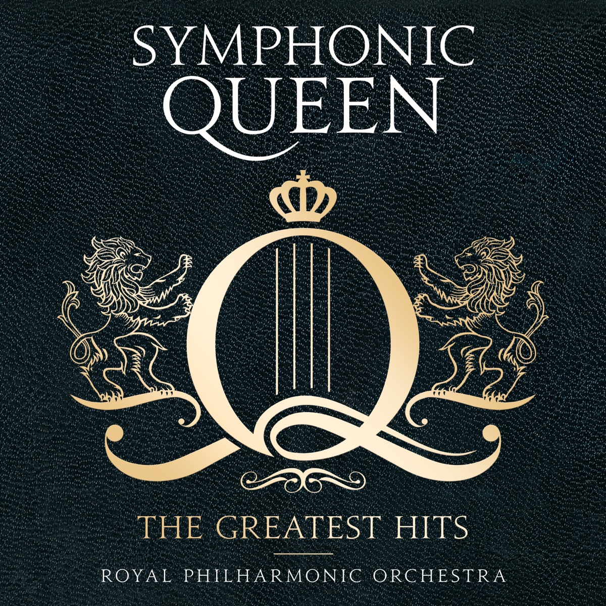 Symphonic Queen - The Greatest Hits Album Cover by Matthew