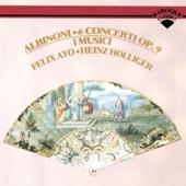 I Musici - Albinoni: Concerto a 5 in A ,Op.9, No.4 for Violin, Strings, and Continuo - Rev. by Franz Giegling - 1. Allegro