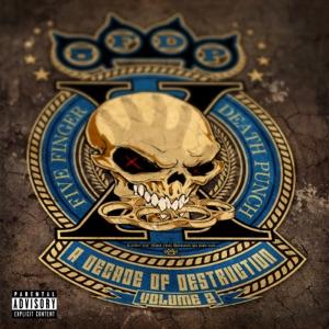 Five Finger Death Punch - Blue On Black