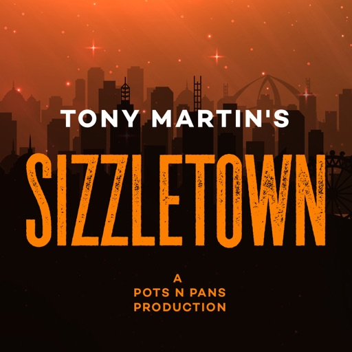 Cover image of Tony Martin's SIZZLETOWN