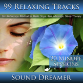 99 Relaxing Tracks (20 Minute Sessions) For Relaxation, Meditation, Reiki, Yoga, Spa, Massage and Sleep Therapy