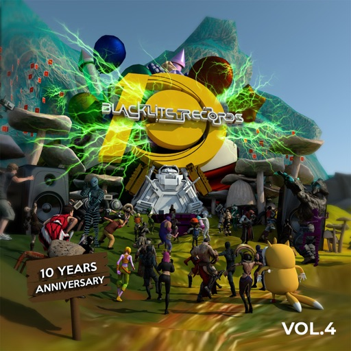 Blacklite Records 10 Years Anniversary Vol. 4 by Various Artists