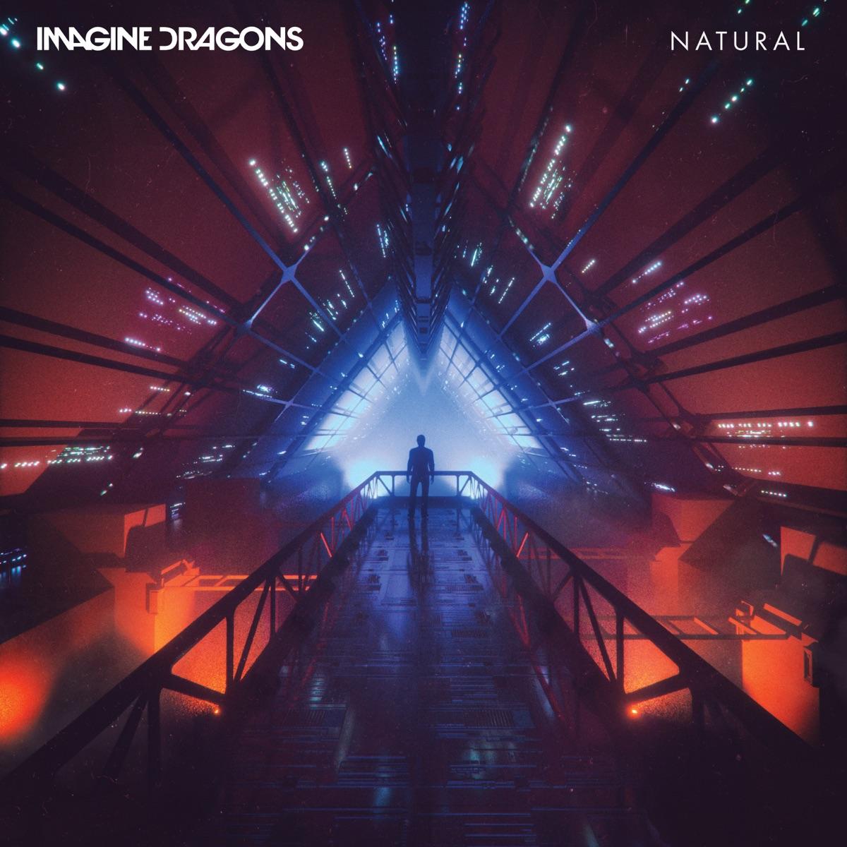 Natural - Single Imagine Dragons CD cover