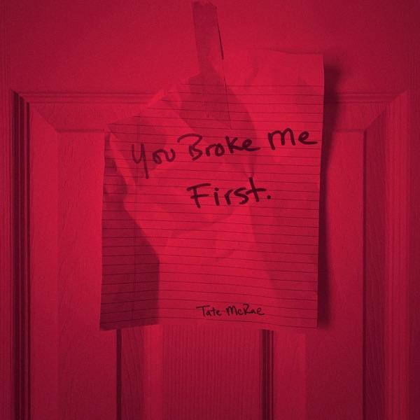 Tate McRae mit you broke me first