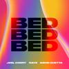 Joel Corry, RAYE & David Guetta - BED artwork